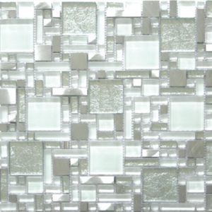 GLASS, STONE & METAL MOSAIC