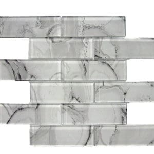 GLASS MARBLEIZED