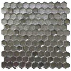 HEX GLASS MOSAIC